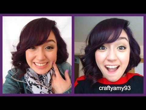 Manic Panic Purple Haze- Dying my Hair- Vlog!