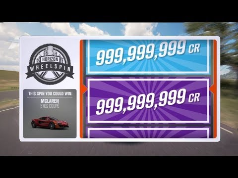 FORZA HORIZON 3 XP AND MONEY GLITCH!!!! UNLIMITED WHEELSPINS!!!! (WORKING)