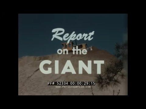 CATERPILLAR TRACTOR COMPANY D-9 BULLDOZER 1950s PROMOTIONAL FILM  52334