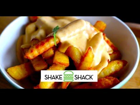 How to make Shake Shack Cheese Fries ! HD RECIPE