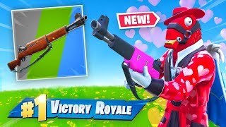 *NEW* Infantry Rifle In Fortnite! (Valentines Update)
