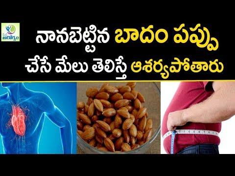 Badam/Almond Health Benefits - Mana Arogyam | Healthy food