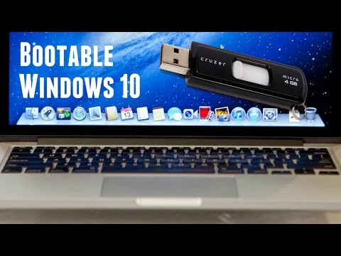 How to Create a Bootable Windows 10 USB Flash Drive on Mac OS X