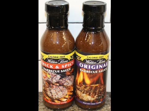 Walden Farms Barbecue Sauce: Thick & Spicy and Original Review