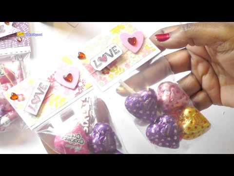 Last-Minute Valentine's Day Treat Bags - DIY Treat Toppers