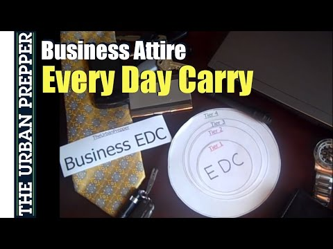 Business Attire EDC (Every Day Carry) by TheUrbanPrepper