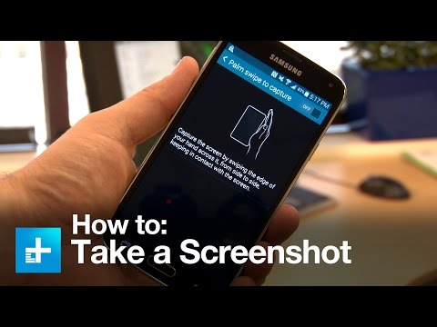How to take a screenshot with Samsung Galaxy Android smartphones