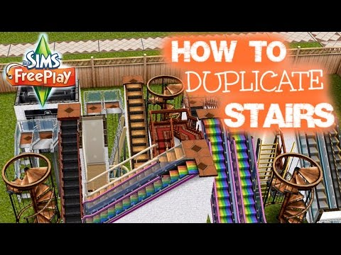DEC 2015 | Sims Freeplay | Stairs Duplication | Patio Glitch