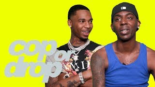 Young Dolph & Key Glock React to $18 Million Watch, $94k Cheeto, & OFF-WHITE Sneakers | Cop or Drop