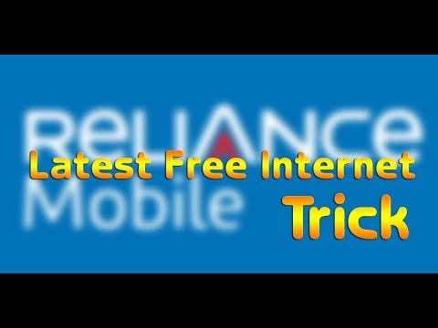 HOW TO USE RELIANCE FREE INTERNET (HINDI)