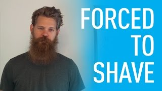 How To Handle Being Forced To Shave Your Beard | Eric Bandholz