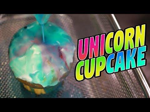 Pinterest Unicorn Cupcake First Try