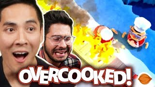 We Ruin Our Friendship Playing Video Games • Overcooked
