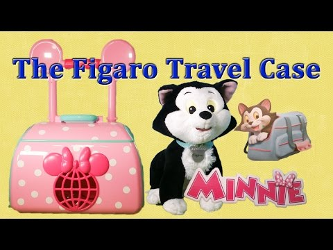 MINNIE-BOW TIQUE Disney Figaro Travel  a Disney Minnie Mouse Toys Unboxing Video