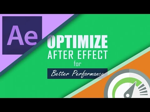 Optimize After Effects for Better Performance