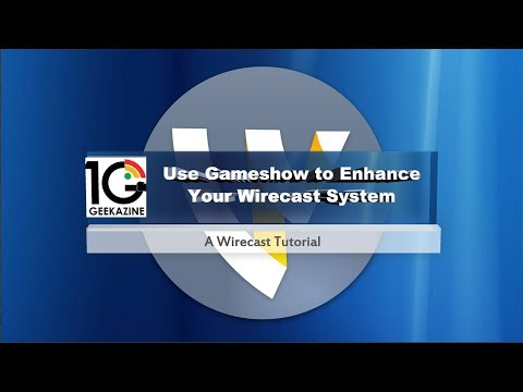 Use Gameshow to Enhance Your Wirecast System