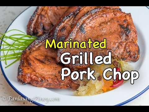 Marinated Grilled Pork Chop