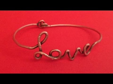 How To Create A Pretty Bracelet With Copper Wire - DIY Style Tutorial - Guidecentral