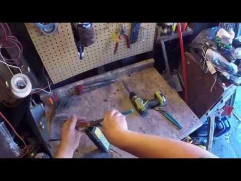 scrapping a fluorescent light ballast