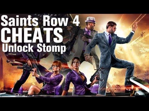 Saints Row 4 Cheats: Unlock Stomp