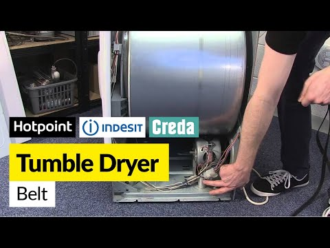 How to Replace the Belt on a Vented Tumble Dryer (Hotpoint, Indesit or Creda)