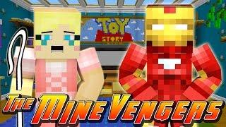 Minecraft MineVengers - TOY STORY 2, SAVING LITTLE BO PEEP!!!!
