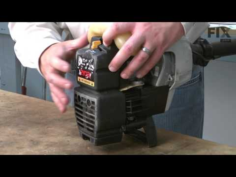 Ryobi Trimmer Repair - How to replace the Throttle Cable