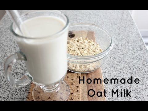 How to make creamy Oat Milk | Quick and easy