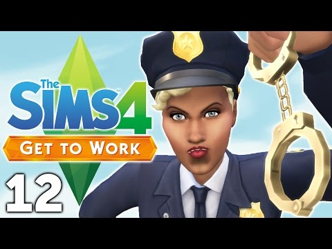 Let's Play The Sims 4 Get to Work - Part 12 - Under Arrest!
