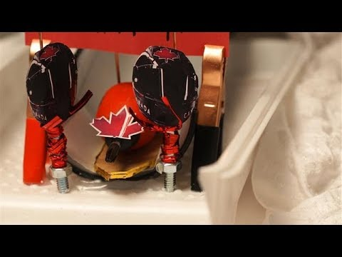 Homemade Highlights: Bobsledders Tie for Gold
