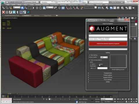 Augment plugin for 3dsMax overview