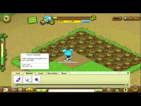 Petpet Park Tutorial: How To Dig Plots, Plant Seeds and Harvest Plants