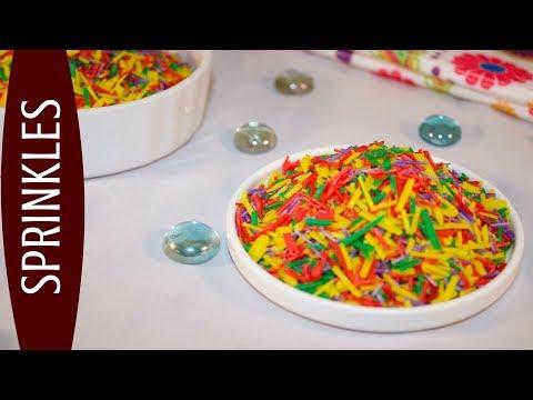 Sprinkles | কেক ডেকোরেশনের জন্য sprinkles recipe | Sugar sprinkles recipe bangla | bangla sweet