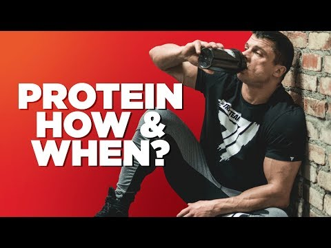 How often & when should I take protein?