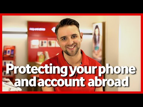 Protect your phone and Vodafone account abroad