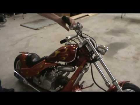 Mini chopper and carb cleaning and adjustment
