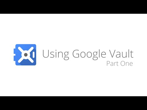 Google Apps Vault - Search and Export