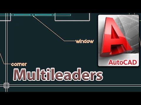 Autocad 2018 - Multileaders