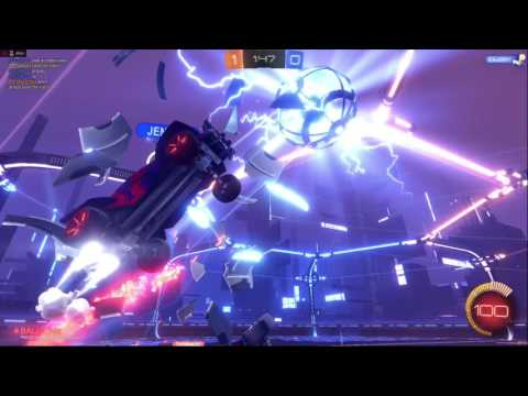Rocket League NEW MODE - Dropshock Gameplay and Commentary