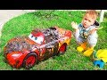 Download Nikita and Red Toy Car Wash MP3,3GP,MP4