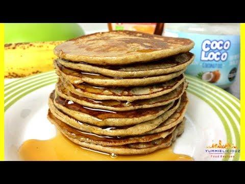 How to Make Pancakes   Banana and Oat Pancakes   Oat Banana Pancake   Yummieliciouz Food Recipes