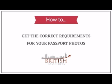 UK Passport Photos: How to get the Correct Requirements