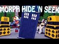 Minecraft Mods | MORPH HIDE AND SEEK - Doctor Who Mod! (Morph Mod)