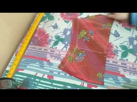 Bell/Umbrella sleeve cutting & stitching easy method