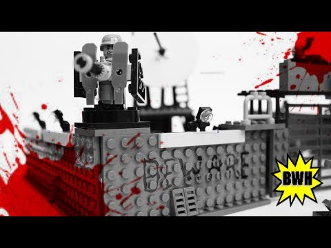 Lego Zombie Defense Base MOC - [Halloween Special]