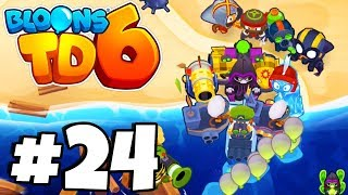 INSTA TOWERS Vs HARD MODE CHALLENGE- Bloons Tower Defense 6