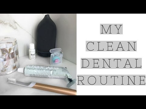 My Clean Dental Routine | Cocofloss, David's Toothpaste, Quip Toothbrush, Tongue Scraping and more!