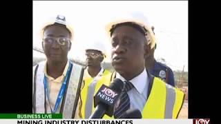 Mining Industry Disturbances - Business Live on JoyNews (23-6-17)