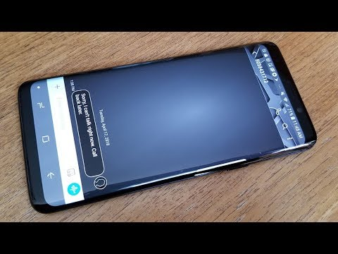 Galaxy S9 / Galaxy S9 Plus How to Change Text Messages Background Style - Fliptroniks.com