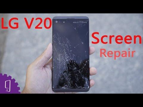 LG V20 LCD Screen Repair Guide